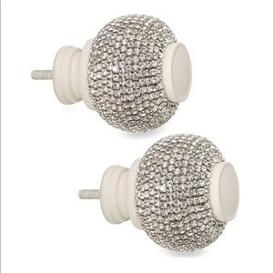 Cambria My Room Twinkle Rhinestone & White Finials